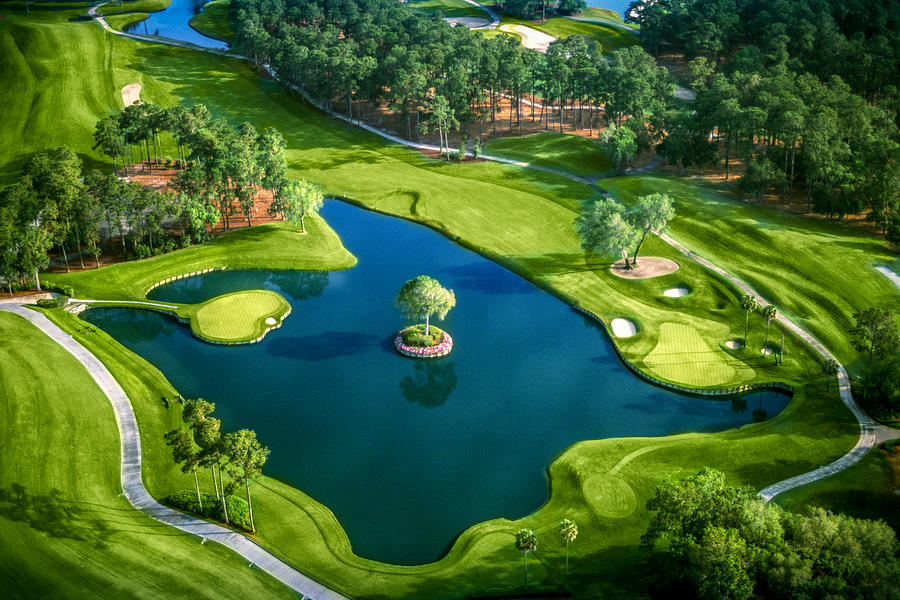 Play #17 at TPC Sawgrass Right Here in Myrtle Beach!