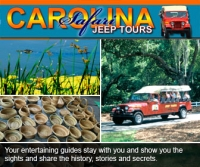 Carolina Safari Jeep Tours In Myrtle Beach South Offers An Extensive Guided Tour Of The Guides On This Are Extremely